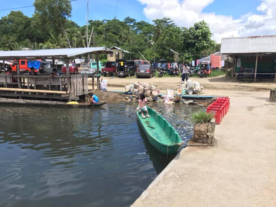 Day-asan are the floating villages of Surigao City, Surigao del Norte, Philippines
